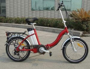 20 Inch Popular Lady Style 20 City Electric Bicycle pictures & photos