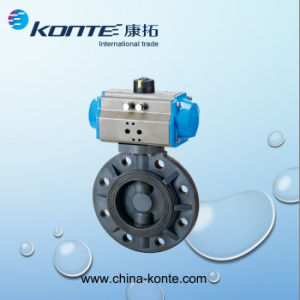 Pneumatic Wafer Butterfly Valve pictures & photos