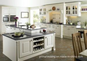 Kitchen Furniture Luxury Solid Wood Kitchen Cabinet (PR-K2033) pictures & photos