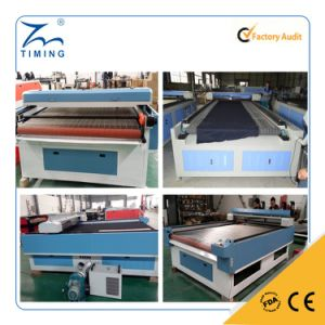 Large Format Cloth Fabric Laser Cutting Engraving Machine 1200*2500mm pictures & photos