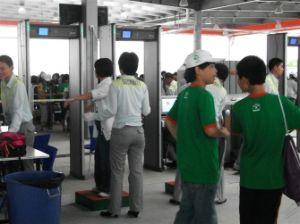 Guard Spirit Walk Through Security Gates for Exhibition Center Use pictures & photos