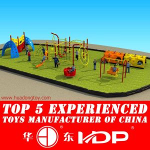 Amusement Park Facility Swing and Slide (HD14-134B) pictures & photos