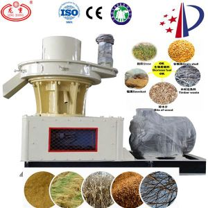 Vertical Ring Die Corn Stalk Pellet Mill