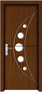 American Latest Design PVC Interior Wooden Doors (EI-P165) pictures & photos