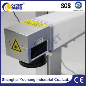 Stationary Metal Card Laser Marking Machine pictures & photos