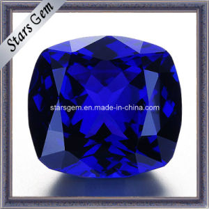 Low Price Lab Created Blue Sapphire Gemstone for Fashion Jewelry pictures & photos