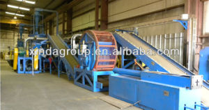 Complete Used Tyre Recycling Rubber Granule Equipment pictures & photos