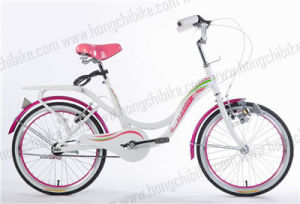 "16"" Alloy Frame City Bike with Rear Carrier for Lady (HC-TSL-LB-41692) pictures & photos"