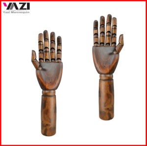 Solid Wooden Hands Dummy for Handbag Display and Jewelry pictures & photos