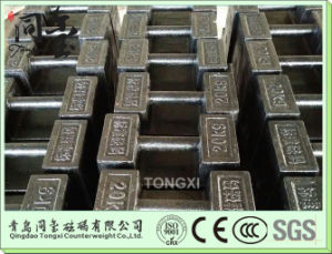 Hot Sale High Precision Cast Iron Weighing Test Calibration Weight pictures & photos