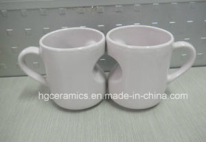 Heart Shape Mug, Heart Mug pictures & photos