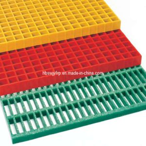 High Quality Low Cost Molded FRP GRP Fiberglass Grating pictures & photos