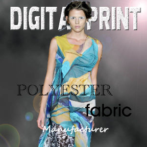 Polyester Fabric Satin Print (YC113) pictures & photos