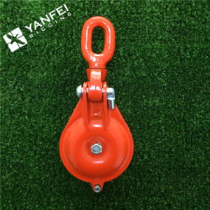0.5t to 10ton Ybo Type Orange Painted Single Snatch Block with Eye pictures & photos