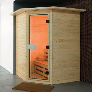 Guangzhou Canton Fair Oppein Wooden Sauna Room (OP-W306B) pictures & photos