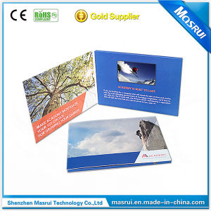 4.3 Inch Touch Screen LCD Video Greeting Card Brochure Booklet