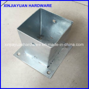 71X71X150mm Top Quality Galvanized Pole Base Plate pictures & photos
