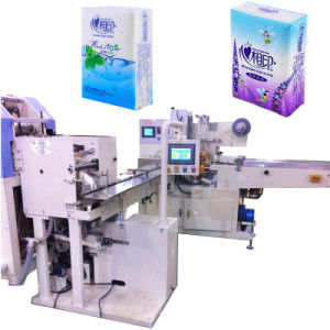 Napkin Paper Wrapping Machine for Pocket Tissue Making pictures & photos