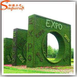 2015 New Style Outdoor Decorative Artificial Topiary Plant pictures & photos
