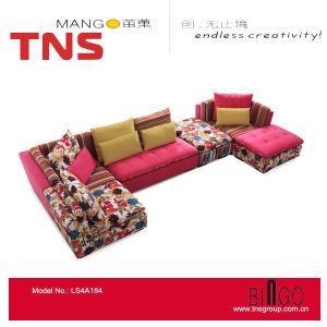 Living Room Sofa Colorful Fabric Sofa Fabric Corner Sofa Fabric Sofa Sofa in Sofa (LS4A184)