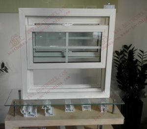 German Quality PVC American Sliding Window (BHP-LW02) pictures & photos