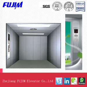 Space-Saving Big Capacity Machine Roomless Freight Elevator for Factory, Shopping Mall pictures & photos