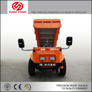 Electric Dump Truck 4tons for Mining Ground Use pictures & photos