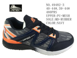 No. 49482 Three Color Men Sport Shoes Stock pictures & photos