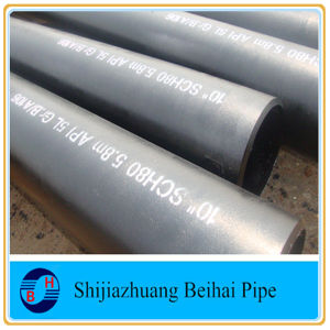 ASTM A53 Grb Carbon Steel Sch40 ERW Pipe pictures & photos