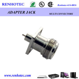 N Female Jack Panel Receptacle Coaxial Connector pictures & photos
