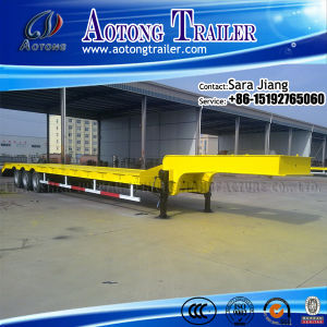 Brand New 3 Axle 50t Low Bed Trailer for Sale pictures & photos