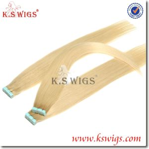 Tape Hair Extension Brazilian Virgin Remy Hair pictures & photos