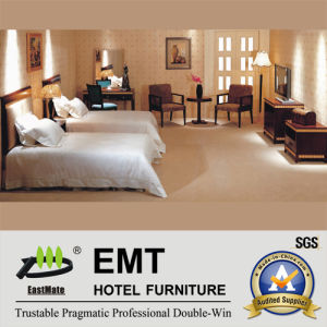 High Quality Hotel Bedroom Furnitury Set Twin-Bed (EMT-B0901) pictures & photos