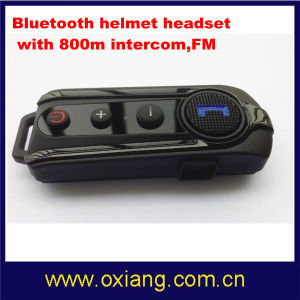 Bluetooth 3.0 Plus EDR A2dp 800m Intercom Headset for Motorcycle Helmet with FM pictures & photos