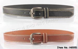 2016 New Fashion Men Leather Belt (N0045) pictures & photos