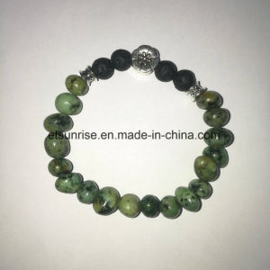 Semi Precious Stone African Turquoise Beaded Bracelet pictures & photos