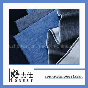 Polyester Jeans Fabric (HLS-H62)