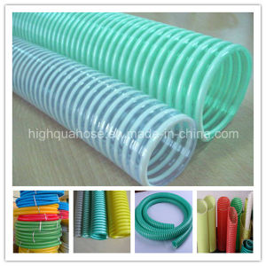 Food Grade Water Suction Hose Corrugated PVC Suction Hose pictures & photos