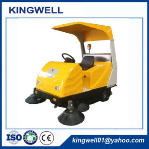 Rechargeable Sweeper Machine Road Sweeper with Ce (KW-1760C) pictures & photos