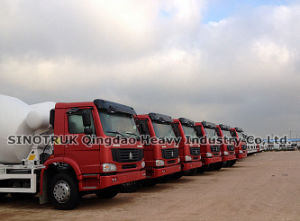 Concrete Mixer Truck 10m3 HOWO (ZZ1257N3841W) pictures & photos