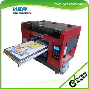 China 2015 new design a3 direct to garment cheap t shirt for Cheapest t shirt printing machine