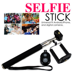 Selfie Stick Rotary Extendable Handheld Cameratripod Mobile Phone Monopod+ Wireless Bluetooth Remote Control for Smartphone 3 in 1