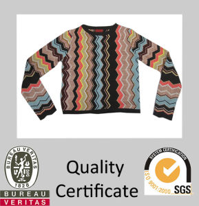Colorful Design Knitted Children Sweater for Spring′2015