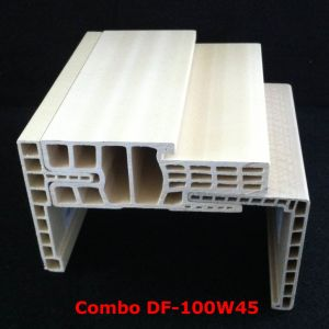 Combo WPC Door Frame Df-100W45 WPC Architrave at-80h60 pictures & photos