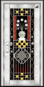 Stainless Steel Door with Glazing Trim in SUS304 (ES-8001) pictures & photos