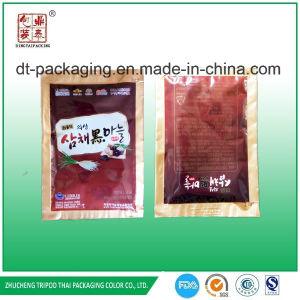 Custom Alumiunm Foil Easy Tear Material Black Garlic Juice Packaging