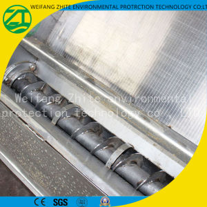 Stainless Steel Livestock Feces/Farm/Slaughterhouse Screw Extrusion Dry Wet Separator pictures & photos