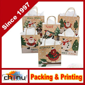 Paper Christmas Craft Bag (210230) pictures & photos