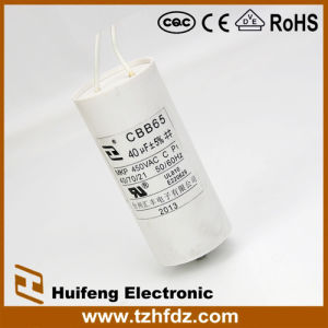 High Quality Cbb65 Air Conditioner Capacitor pictures & photos
