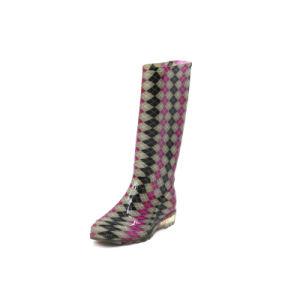 Ladies Rain Boots (Transparent rubber sole) pictures & photos